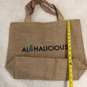 New Al🍍halicious burlap reusable bag 🍍